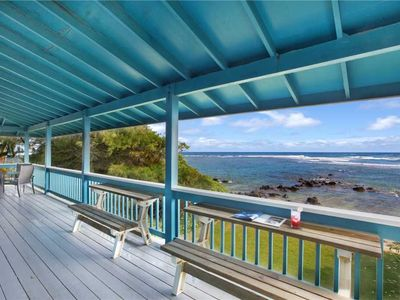 Photo for Expansive Ocean Views and a Few Steps to the Beach