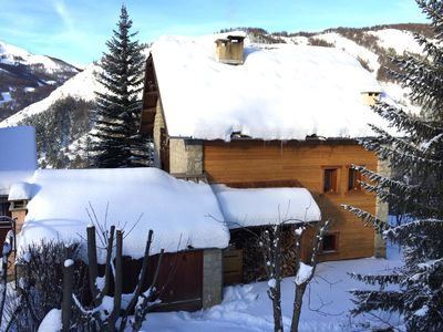 Photo for Beau Chalet 9 persons, 5 rooms, 120m2 in Allos