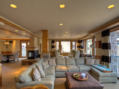 Photo for Spectacular Mountain Village Core 5 bedroom condo