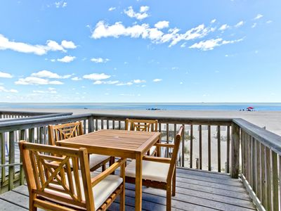 Photo for Located Right On The Sand - This Directly Oceanfront Townhomes Location Can't Be Beat!