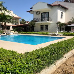 Photo for Detached Villa with 2 bedroom common pool and garden.