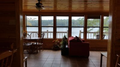 Photo for Charming Cabin On Water's Edge Suitable For Any Age, Great Location & Amenities.