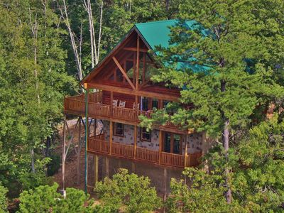 Photo for Luxury Cabin Near Dollywood With 50 Mile Views