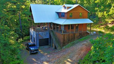 Photo for Mountain Fork Lodge - 3 bedroom - sleeps 10 - Secluded