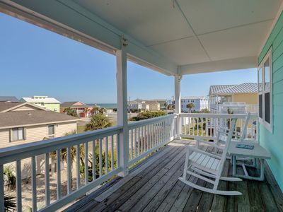 Photo for Livin' Simply - Gorgeous 4 bedroom oceanview house, sleeps 9.