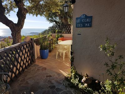 Photo for Sea view apartment in Cavalaire-sur-mer
