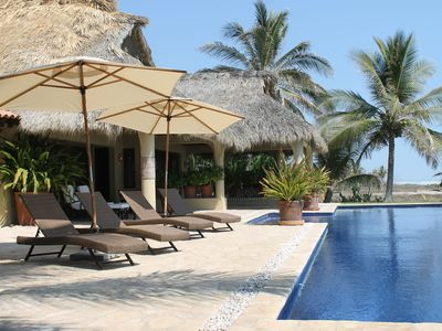 Photo for Casa Buena Vista Spectacular Beach Front Luxury Villa Resort (Chef Full Service)