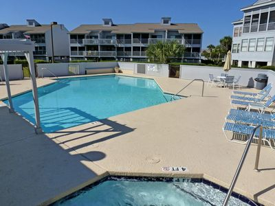 Photo for Second Row Condo in Gated Oceanfront Community - 2 Pools - 2 min. Walk to Beach