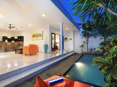 Photo for Cozy and quiet 2 BR villa in Seminyak [JULY PROMO]