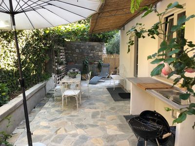 Photo for Loft apartment with garden, Bordighera