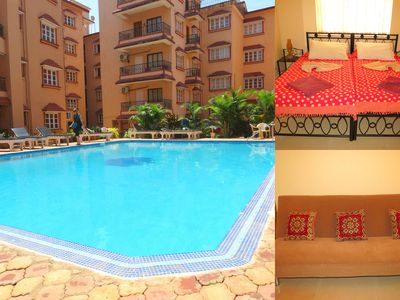 Photo for 41) Serviced Apartment Ground Floor Near Baga Beach