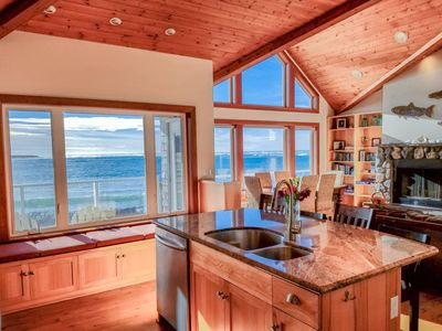 Photo for NEWLY RENOVATED!!! Lovely Beachfront Home with Amazing Views!