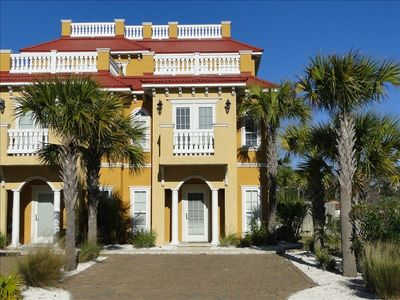 Photo for 125 Yards to Beach! 3 Story Luxury Town Home Gulf View! Elevator! Patio and Pool