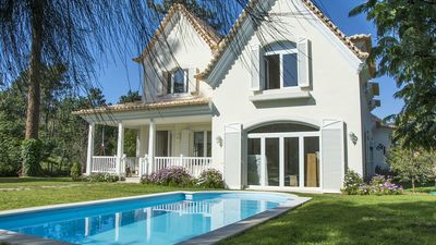 Photo for Beautifully Decorated Villa with Lake View on the Golf next to the Beach