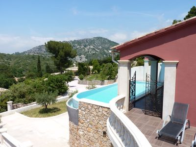 Photo for VILLA WITH HEATED SWIMMING POOL 13 people the near monaco and nice turbie