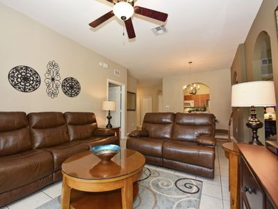 Photo for 3 Bedroom Condo In An Upscale Gated Community 2 Miles From Disney. 7664CS-101