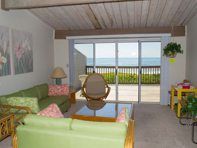 Photo for 3BR Multi-level Oceanfront condo, views from Principal BR and Living Area!