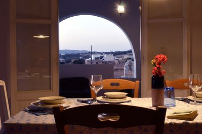 Dining Area with view from Northern Veranda.