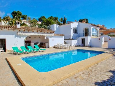 Photo for Mabruka - charming, Spanish finca style holiday villa in Benissa
