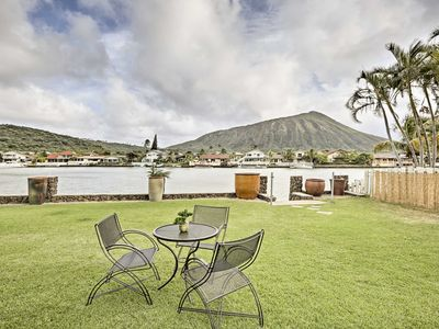 Photo for Waterfront Honolulu House w/ Yard, Patio & Views!