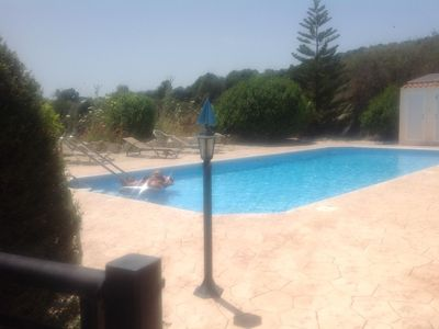 Photo for 2 bed high spec village house beautiful location, communal pool, stunning view