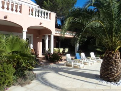 Photo for Villa in the heart of the golf Valescure