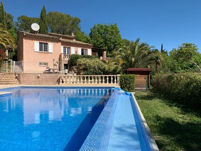 Photo for Secluded Villa With Large Pool And Grounds, Five Bedrooms Sleeps 9-12