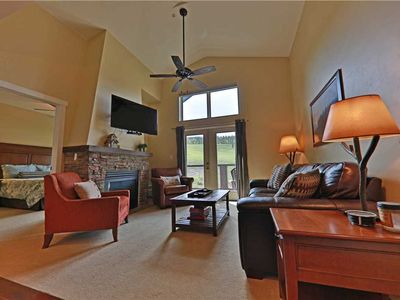 Photo for Excellent ski-in/ski-out condo with outstanding ski slope views and indoor parking