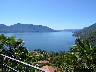 Photo for House with stunning panoramic lake views, private pool and palm garden