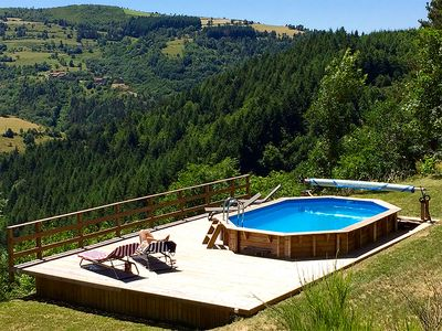 Photo for VILLA IN THE HEART OF THE ARDÈCHE FOR RENT
