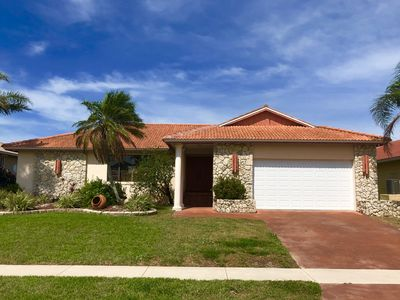 Photo for Marco Island lovely house on the water with pool walking distance to beach
