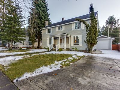 Photo for Historic home with game room and backyard, close to the lake & downtown