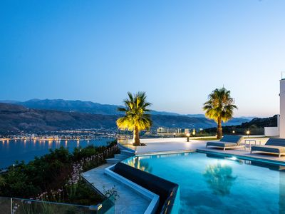 Photo for Brand new 5 bedroom villa with a heated pool and amazing view - Paul's House