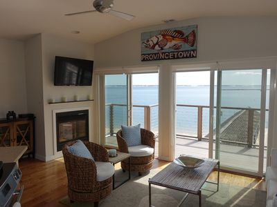 Photo for Gallery District Waterfront Penthouse with stunning bay and beach views