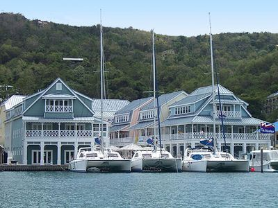 Photo for Luxury Marigot Bay Marina Apartment (seen on TV) includes 5* Resort facilities!