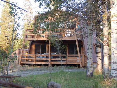 Photo for Wolf Hollow - Serene, Cozy Cabin Located 31 miles from YNP with RV availability