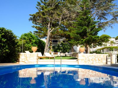 Photo for Ocean Villa - Masseria  sea view -sea access - POOL LIDO Beachfront