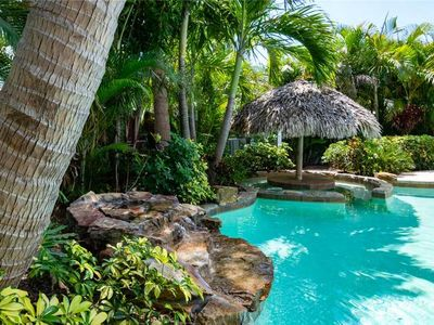 Photo for Beautiful Home Just a Few Blocks from the Beach w/ Tropical Private Heated Pool