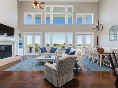 Photo for Spacious Resort Home with Lake & Bayfront with Beach Views in Pointe West Resort