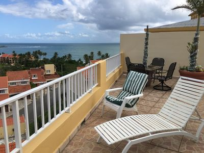 Photo for PRIVATE Secure Penthouse w/ Wraparound Patio Relaxing Ocean Views=PARADISE
