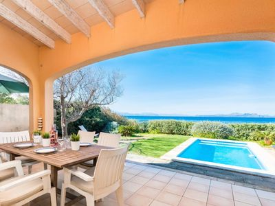 Photo for YourHouse Escull - Villa with direct beach access and private pool