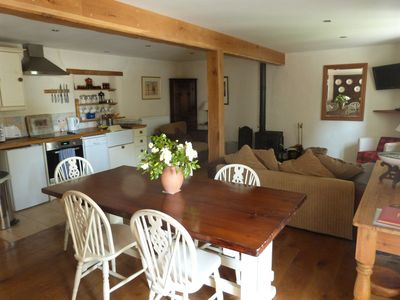 Photo for Beautiful Barn Conversion  with easy access to beaches, moors & Cornwall