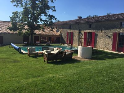 Photo for Stunning Vineyard in Bordeaux Countryside with private pool