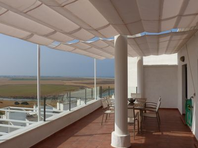 Photo for Penthouse LA PERLA, flooded with light, modern, quiet, near the beach, outskirts Conil