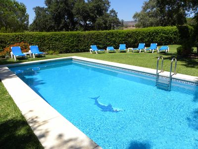 Photo for Villa with Private Pool and Garden in Elviria, 15 Mins East of Marbella