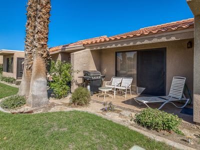 Photo for Dog-friendly condo w/ a patio, shared pool, pool spa, & mountain views