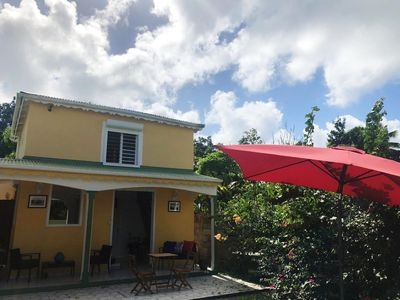 Photo for Modern house 5 minutes from the beach of Souffleur Port-louis