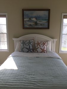 MASTER SUITE ON SECOND FLOOR  HAS BATHROOM WITH SHOWER AND WALK-IN CLOSET