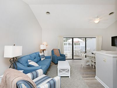 Photo for 6803W: Renovated 2BR Sea Colony West condo! Private beach, pools, tennis ...