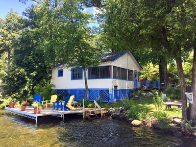 Photo for Got Heaven? Lakeside Cottage - Swimming, Sunsets, Spectacular View!